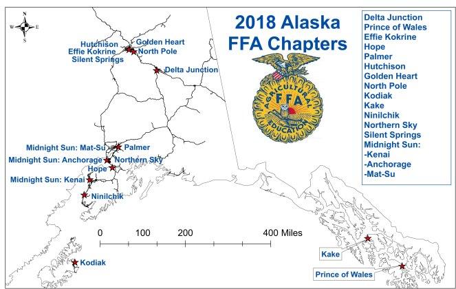 2018 FFA Map