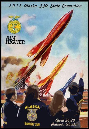 aim higher poster